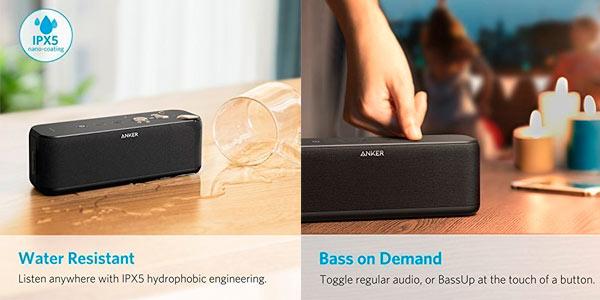 Altavoz portátil Bluetooth Anker Soundcore Boost en oferta