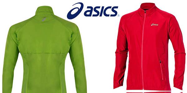 Asics Woven chaqueta running para mujer chollo