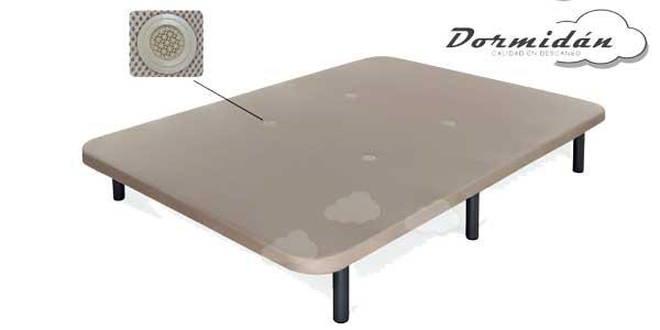 Base tapizada transpirable 3D + 6 patas metal o madera barata en eBay España