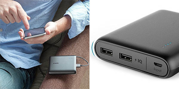 Powerbankl Anker PowerCore 13.000 mAh en Amazon
