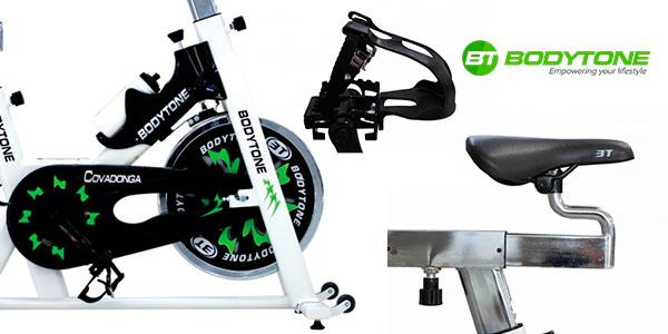 Bicicletade spinning Bodytone Covadonga con consola en oferta