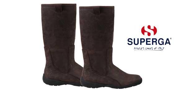 Botas altas de invierno Superga 4176-NBOU en color marrón para mujer baratas en eBay