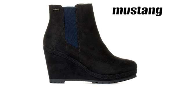 Botines Mustang Yera en color negro para mujer baratos en eBay España
