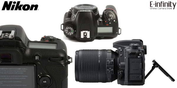 Cámara Réflex Nikon D7500 DSLR de 21 MP, 4K, Wifi y Bluetooth con zoom Nikon AF-S DX 18-140mm chollo en eBay España