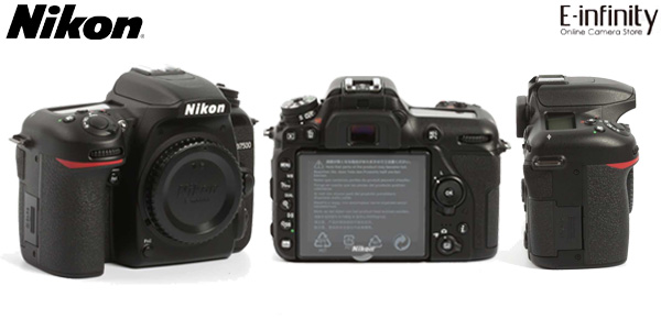 Cámara Réflex Nikon D7500 DSLR de 21 MP, 4K, Wifi y Bluetooth barata en eBay