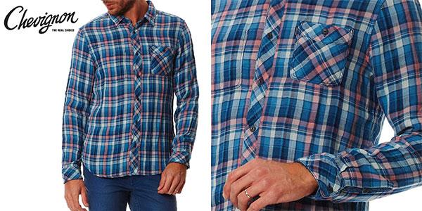Camisa Chevignon Indian Pink para hombre barata