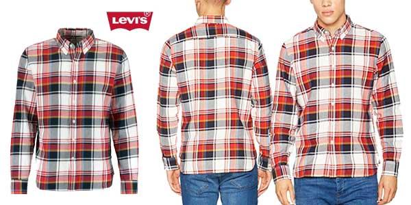 Camisa Levi's Ls Pacific para hombre barata en Amazon Moda