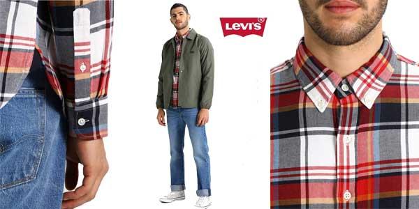 Camisa Levi's Ls Pacific para hombre chollo en Amazon Moda