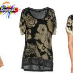 Camiseta Desigual Irisa para mujer barata
