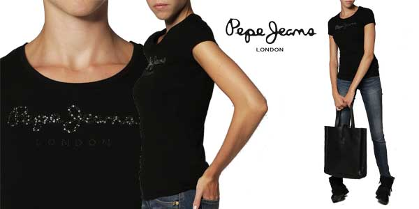 Camiseta Pepe Jeans Puppy para mujer chollo en Amazon Moda