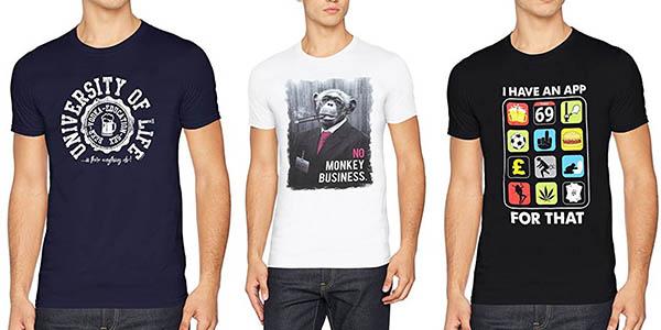 camisetas FM London Printed Design diseños originales baratas