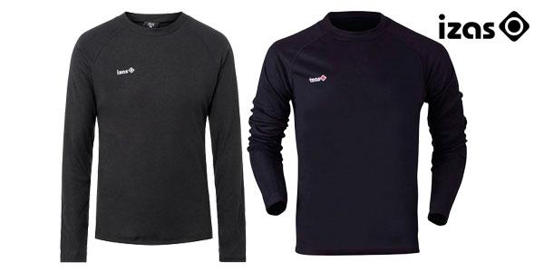 Camiseta térmica Izas Nelion para hombre en color negro o rojo chollazo en eBay España