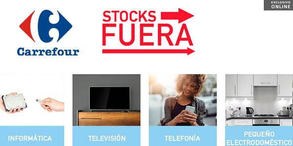 Carrefour online stocks fuera febrero 2018