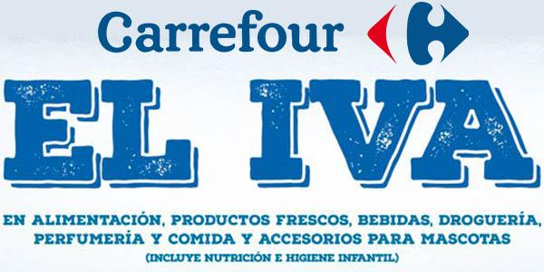 Carrefour Supermercado Día sin IVA 16 de febrero 2018