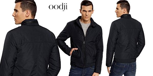 Chaqueta con Cremallera y Cuello Mao de Oodji Ultra para hombre barata en Amazon Moda