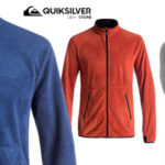 Forro polar Quiksilver Cosmo Polartec Zip Mid Layer para hombre en rojo o en azul barato en eBay España