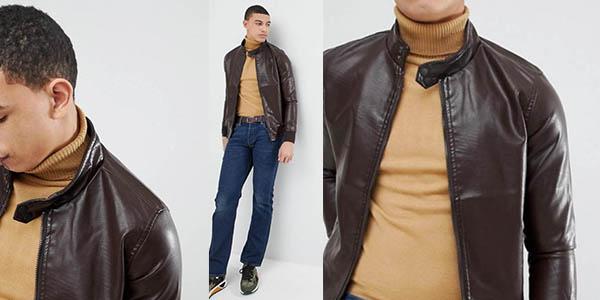 chaqueta Soul Star en cuero sintético barata