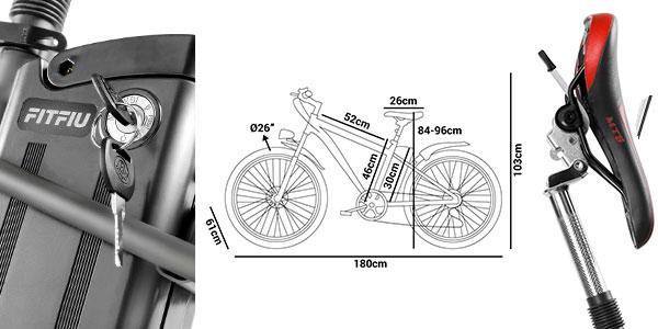 Chollo Bici eléctrica Fitfiu con cambio Shimano