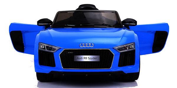 Audi R8 Spyder eléctrico para niños monoplaza, licencia oficial Audi chollazo en Amazon España