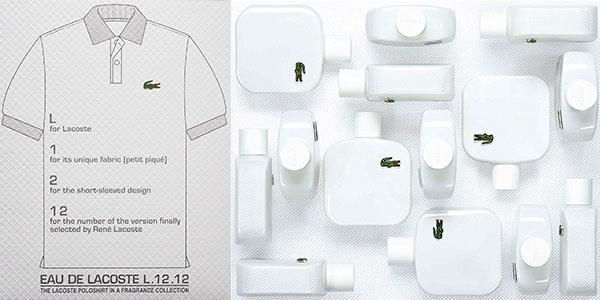 Eau de toilette Lacoste L.12.12 Blanc Pure para hombre en oferta