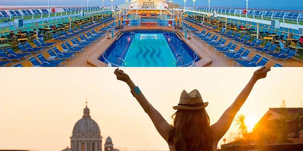 crucero por Italia y Francia con actividades para jóvenes y todo incluido a precio brutal
