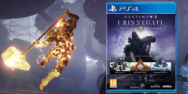 Destiny 2: Los Renegados - Colección Legendaria para PS4