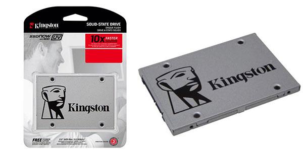 Disco duro Kingston SSD Now UV400 de 2.5 pulgadas de 120 GB barato