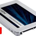 Disco duro SSD Crucial MX500 de 1 TB