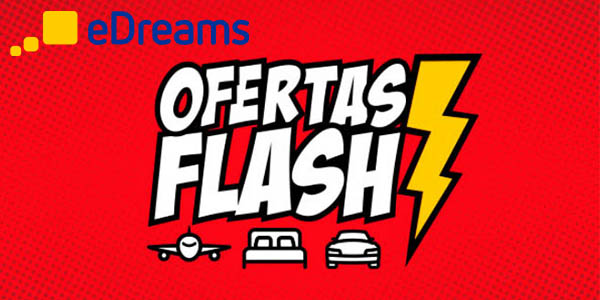 eDreams ofertas flash código descuento febrero 2018