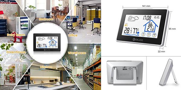 estación metereológica Digoo DG-TH8380 con genial relación calidad-precio
