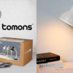 Flexo de escritorio Tomons en madera barato en Amazon