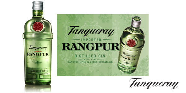 Ginebra Tanqueray Rangpur Distilled Gin de 700 ml chollo en Amazon