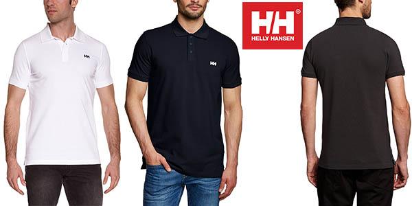 Helly Hansen Transet polo para hombre de manga corta oferta