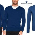 Suéter de pico Tom Tailor Basic V-Neck barato en Amazon Moda