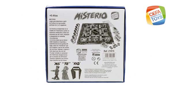 CEFA Toys - Juego de mesa misterio (21815) chollazo en Amazon