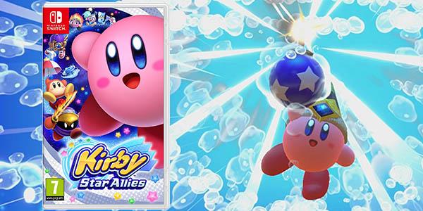Chollo Kirby Star Allies Para Nintendo Switch Por Solo 41 31 Con