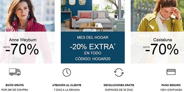 La Redoute moda para mujer hombre y niñ@s productos mobiliario y decoración ofertas