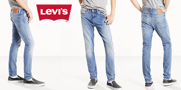 bf87650b729d9 Chollazo Vaqueros Levi s 519 Extreme Skinny fit para hombre por sólo ...