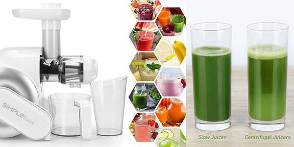 Exprimidor eléctrico Simpletaste de frutas y verduras barato