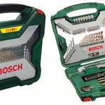 Maletín de herramientas de 100 unidades Bosch X-Line Titanio
