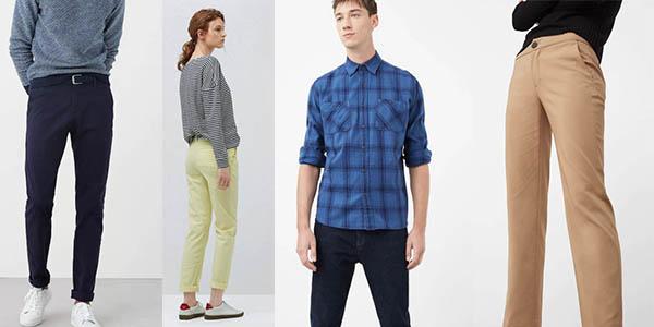 Mango Outlet promoción camisas y pantalones por 5€