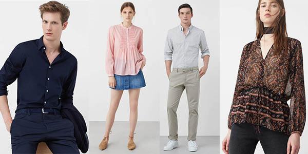 Mango Outlet ropa barata para mujer y para hombre de diseño casual