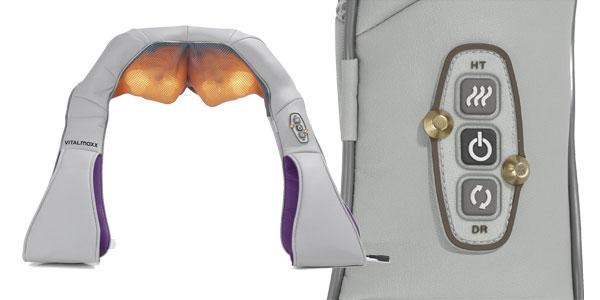 Dispositivo de masaje shiatsu de cuello y hombro Vital Maxx chollo en Amazon