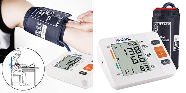 Tensiómetro digital Nursal en Amazon