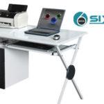 Mesa de escritorio y ordenador SixBros. S-356/1130 chollo en eBay