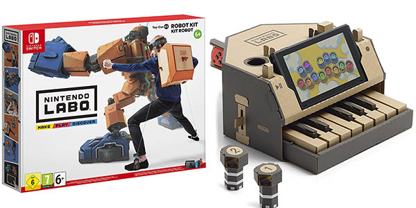 Kits de Nintendo Labo para Switch