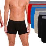 Pack de 5 Bóxer FM London Tagless de algodón en varios colores para hombre baratos en Amazon