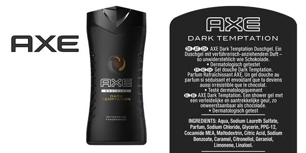 Pack x6 Axe Dark temptation chollazo en Amazon