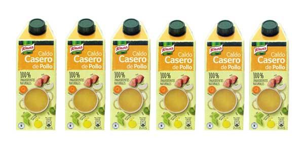 Pack x6 Knorr Caldo Casero de Pollo barato en Amazon