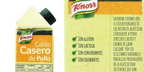 Pack x6 Knorr Caldo Casero de Pollo chollo en Amazon